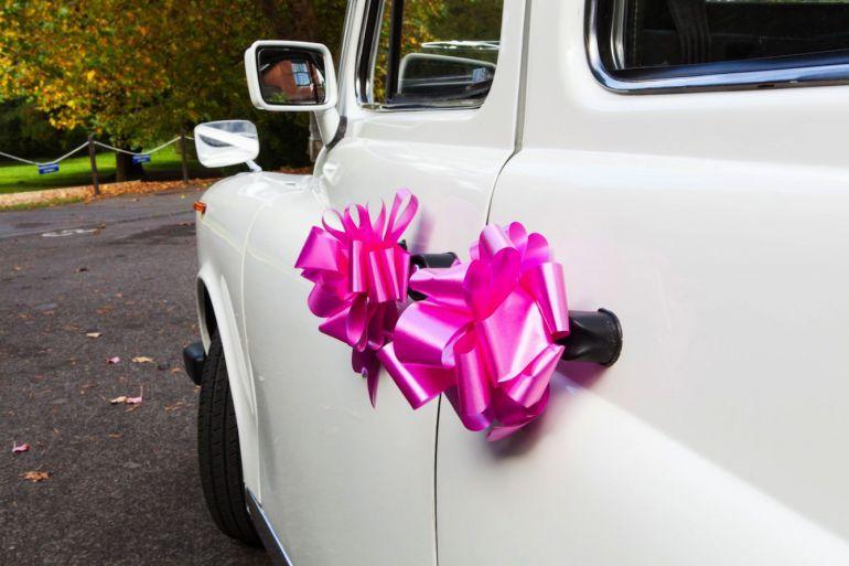 Taxi cab wedding
