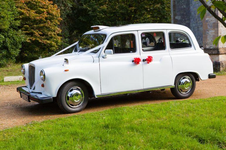 Southampton Wedding Car Booking May 2014 White London Style